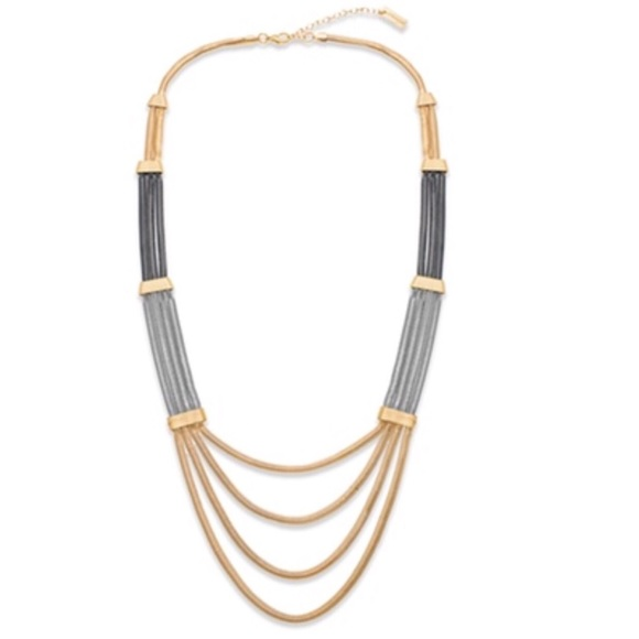 Steve Madden Jewelry - Steve Madden Tri Tone Necklace